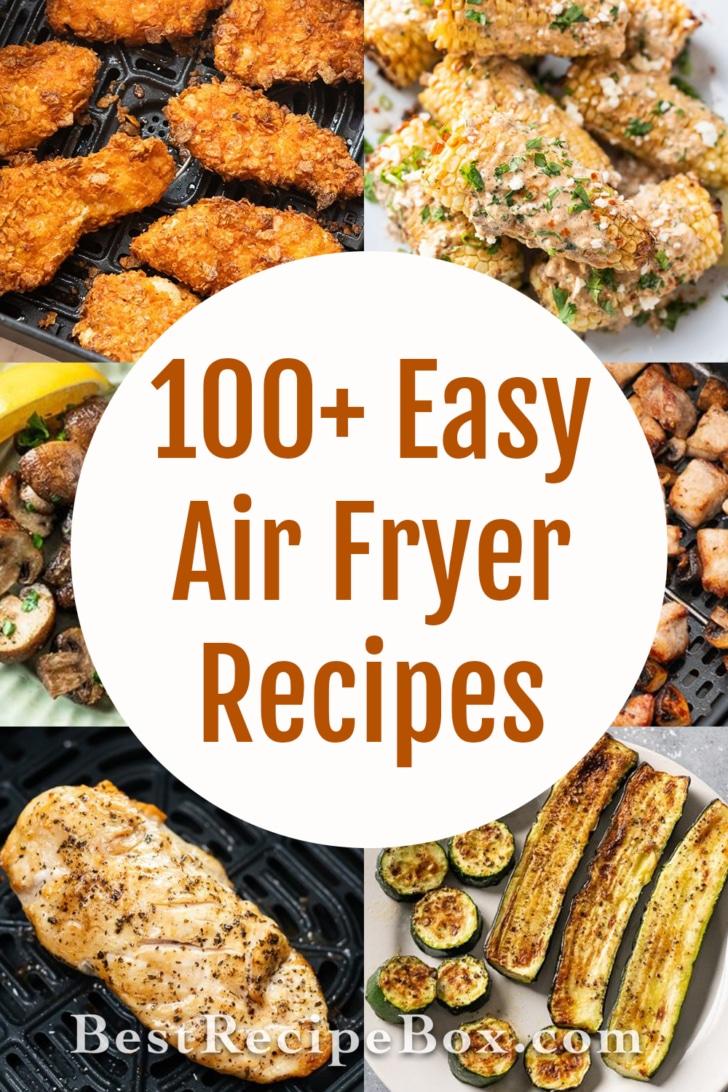 air fryer recipes cookbooks