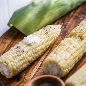 5-minute Buttery Corn On The Cob Recipe   @bestrecipbox