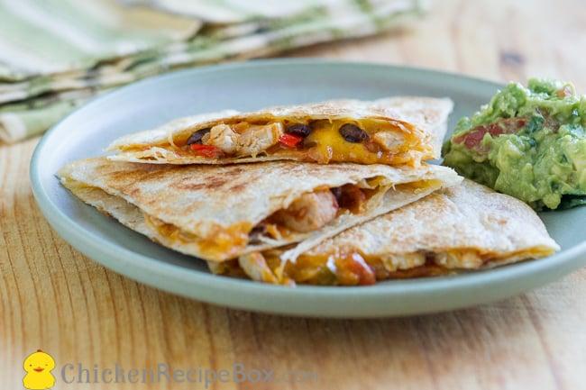 Chicken Quesadilla Recipes Easy Food Network