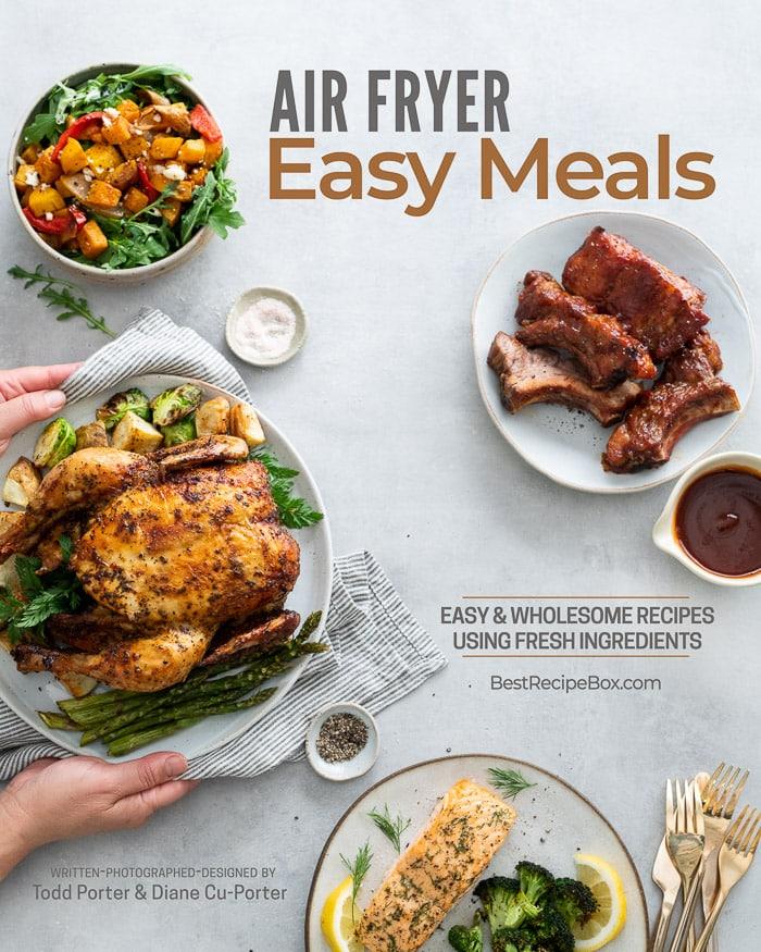 air fryer easy meals cookbook digital