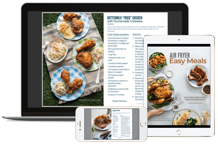 tablet and mobile air fryer low carb cookbooks