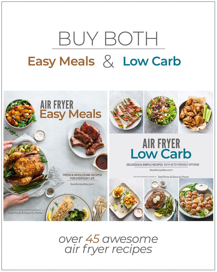 Air Fryer Easy Low Carb Cookbook Bundle | Best Recipe Box