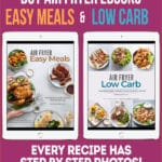 Air Fryer Cookbooks for Easy Meals and Low carb Recipes @bestrecipebox