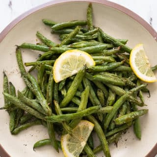 Air Fried Green Beans Recipe in Air Fryer | BestRecipeBox.com