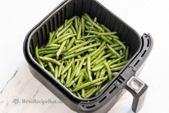 Air Fried Green Beans Recipe in Air Fryer   BestRecipeBox.com