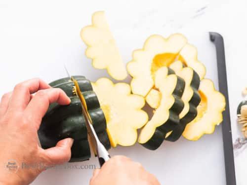 Acorn Squash Air Fryer Recipe   @BestRecipeBox
