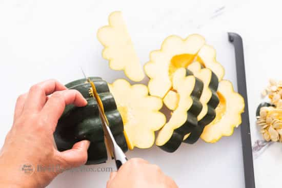 Acorn Squash Air Fryer Recipe | @BestRecipeBox