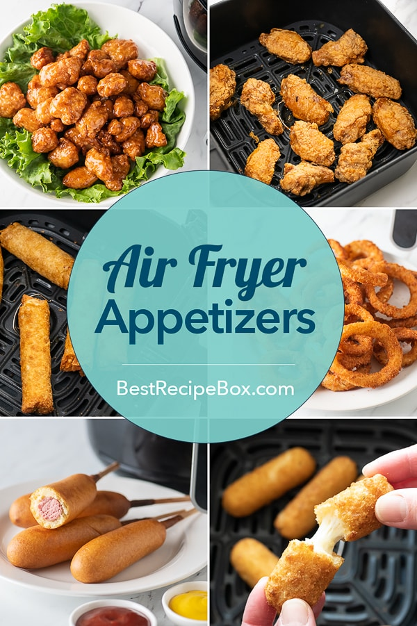 Air Fryer Appetizer Recipes that's air fried no oil | bestrecipebox.com