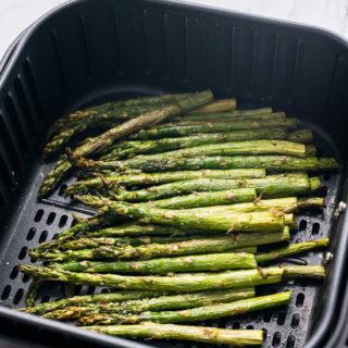 Air Fryer Asparagus | @bestrecipebox