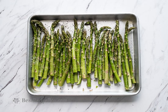 Air Fryer Asparagus Recipe | @bestrecipebox