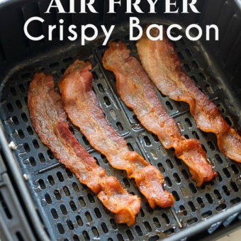 How to Cook Bacon in Air fryer for Crispy Air Fried Bacon Recipe   @bestrecipebox