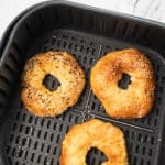 Easy Air Fryer Bagel Recipe @bestrecipebox