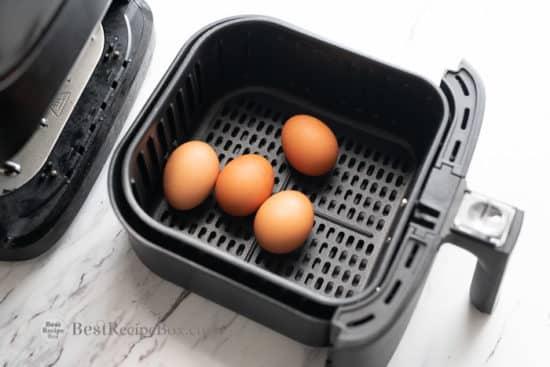 Easy Air Fryer Boiled Eggs Recipe that's perfect! Best Boiled Eggs in Air Fryer @bestrecipebox