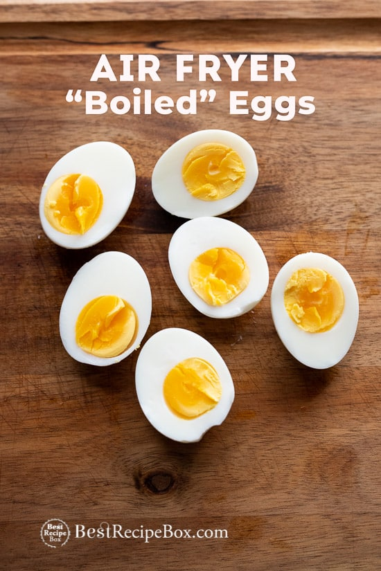 Air Fryer Boiled Eggs Recipe in Air Fryer @bestrecipebox