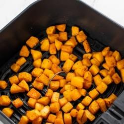 Air Fryer Butternut Squash Recipe Healthy | BestRecipeBox.com