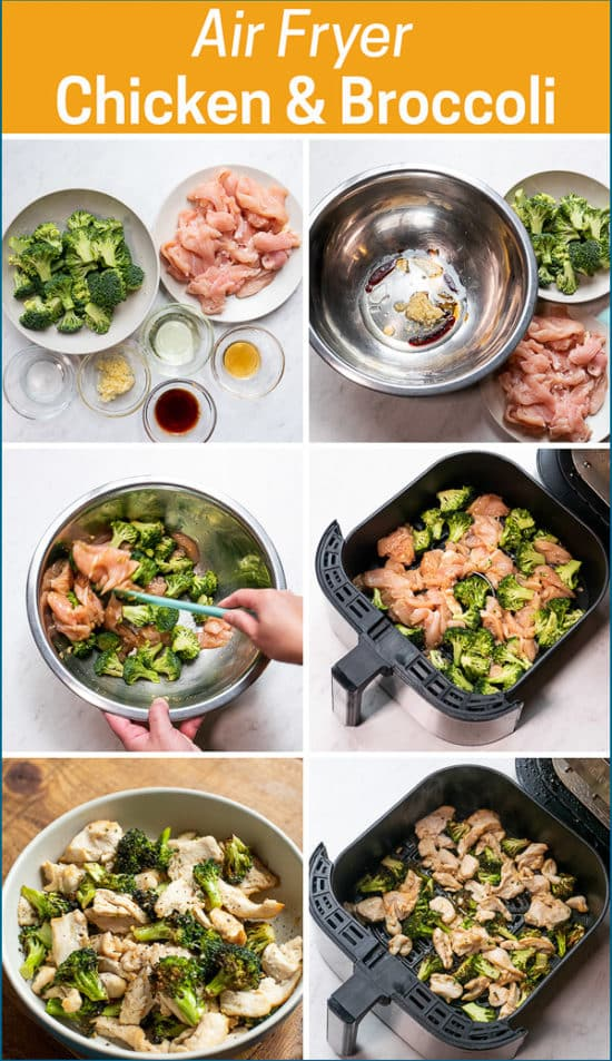 step by step making the recipe