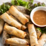 Air Fryer Chicken Egg Rolls Recipe or Pork Egg Rolls | @BestRecipeBox