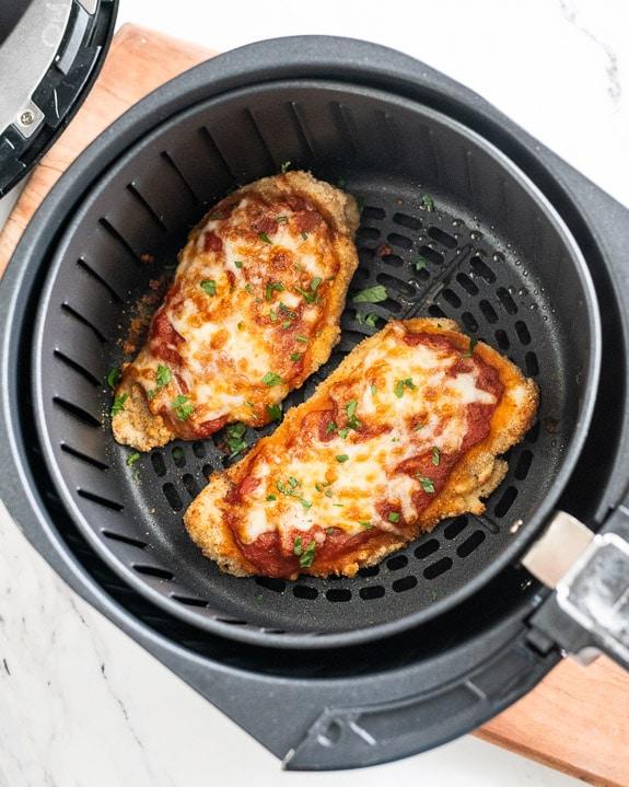 Air Fryer Chicken Parmesan Recipe | BestRecipeBox.com