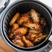 How to make Healthy Air Fryer Chicken Wings Recipe | @bestrecipebox