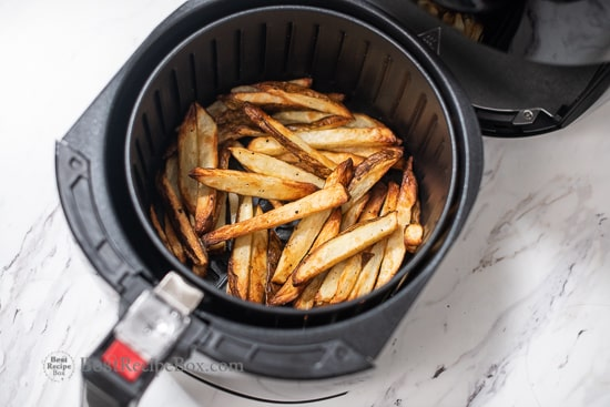 Air Fried French Fries in Air Fryer Less Oil and Healthy @BestRecipeBox