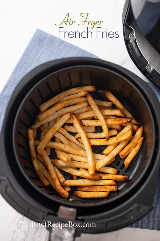 Best Recipes: Air Fryer Frozen French Fries CRISPY EASY