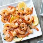 Air Fryer Garlic Shrimp Recipe Healthy Air fried shrimp @bestrecipebox