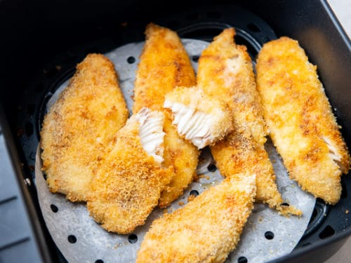 Air Fried Fish Fillet