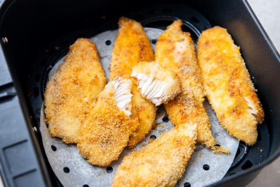 Air Fried Fish Fillet