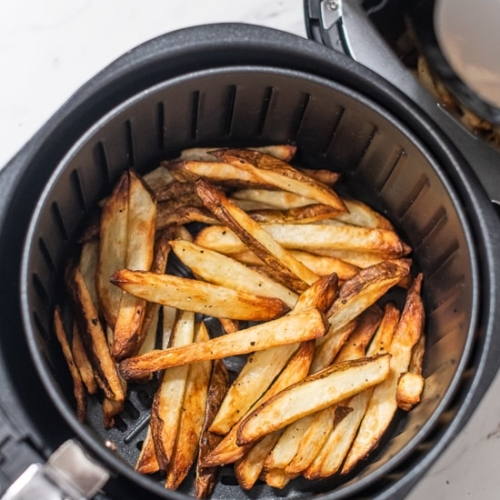 Homemade Air Fryer French Fries Recipe Healthy Crispy Easy
