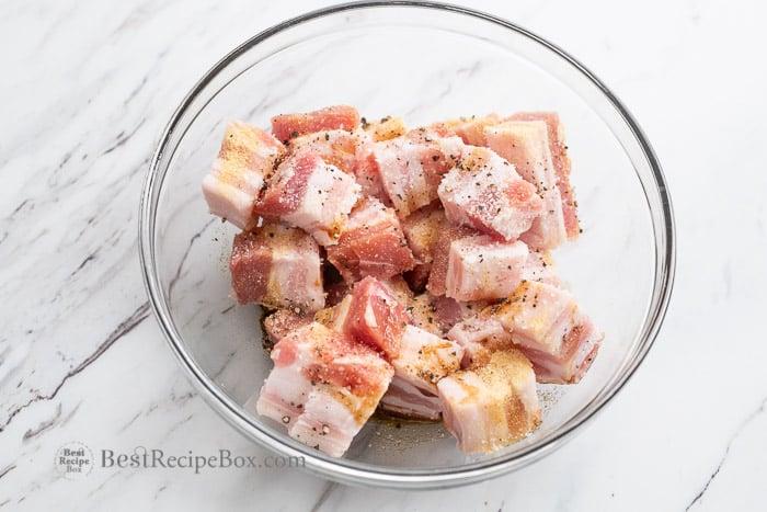 Air Fryer Pork Belly Recipe @bestrecipebox