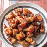 Air Fryer Pork Belly Bites @bestrecipebox