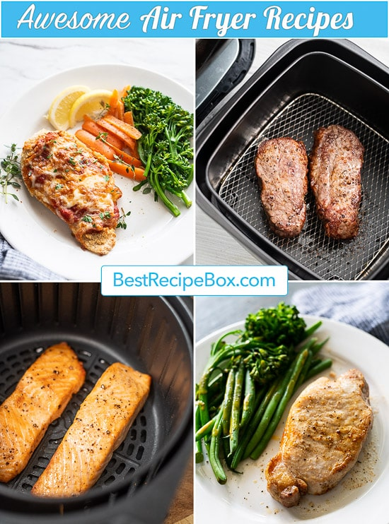 Best Air Fryer Recipes for Healthy Air Fried Recipes | @bestrecipebox