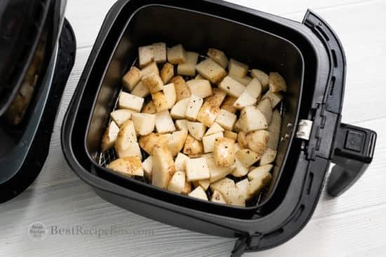 Air Fryer Roast Potatoes So crispy and good! Air Fried Potatoes @bestrecipebox
