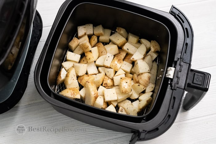How long to cook roast potatoes in air fryer