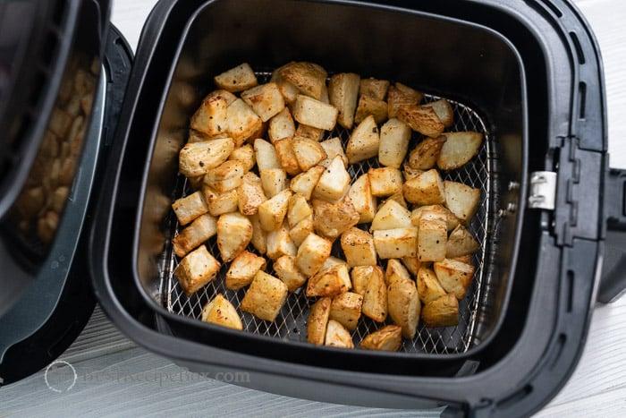 So crispy and good! Air Fried Potatoes @bestrecipebox