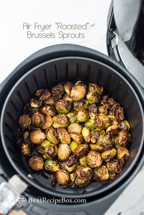 Crispy Air Fryer Brussels Sprouts With Little Oil Best