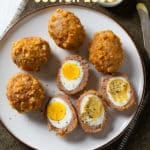 Low Carb Keto Air Fryer Scotch eggs Recipe @BestRecipeBox