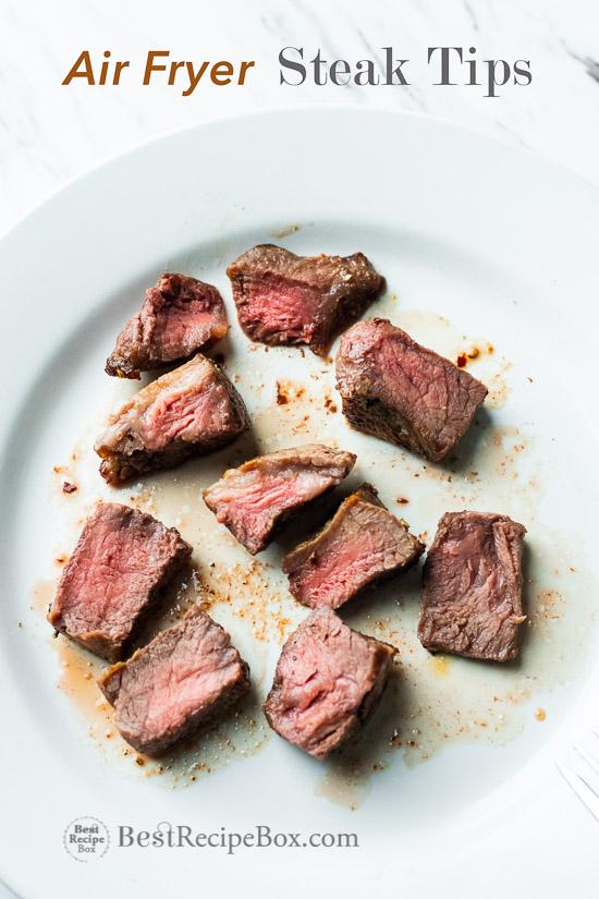Air Fryer Steak Tips Recipe With Potatoes Best Recipe Box