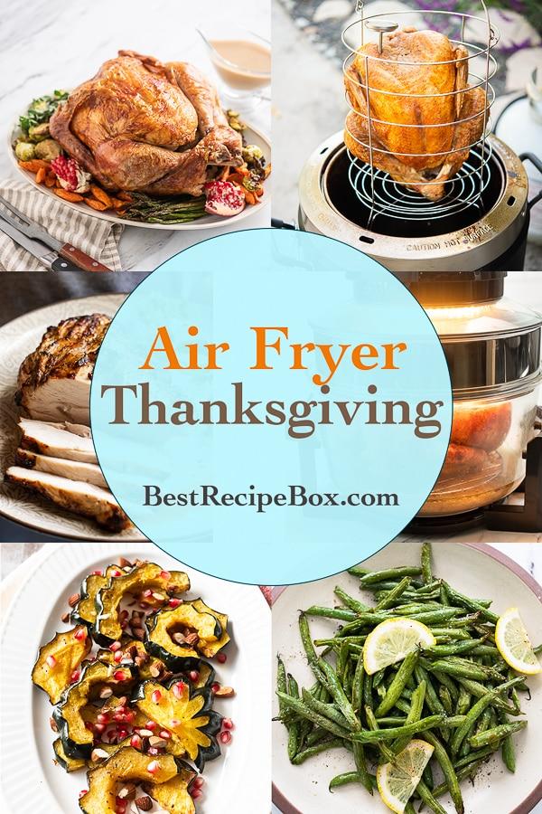 Air Fryer Thanksgiving Recipes @BestRecipeBox
