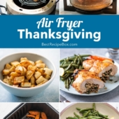 Air Fried Thanksgiving Recipes in Air Fryer that's Healthy @BestRecipebox