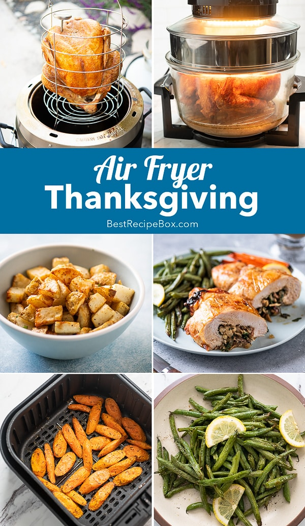 Air Fried Thanksgiving Recipes in Air Fryer that's Healthy step by step