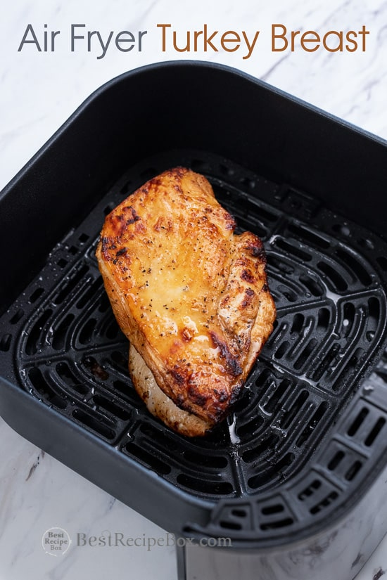 Air Fried Turkey Breast With Lemon Pepper Or Herbs Best Recipe Box