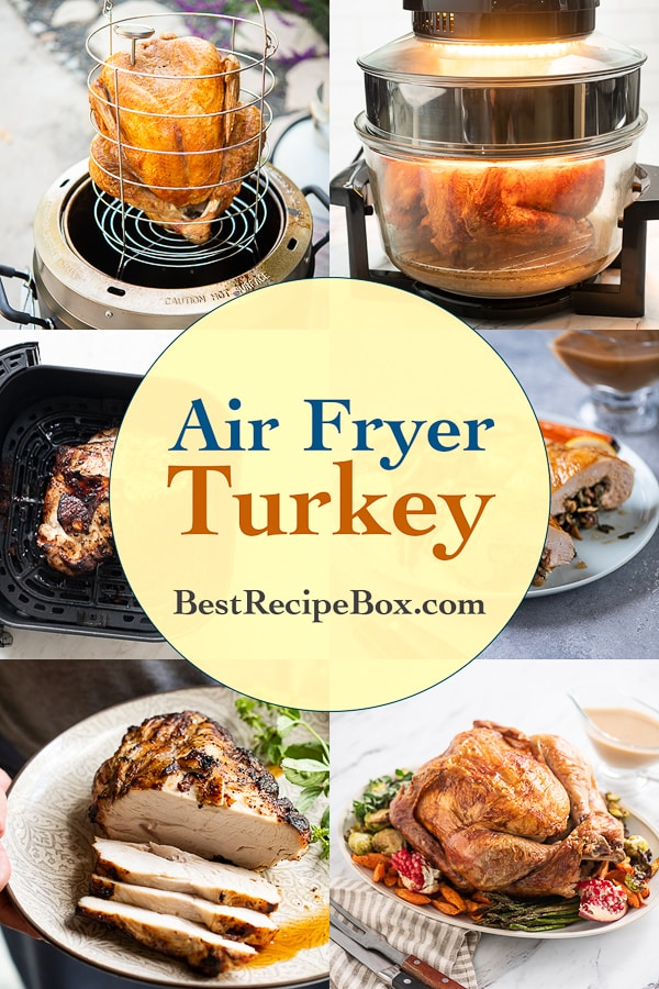 Air Fryer Turkey Recipes in the Air Fryer @BestRecipeBox