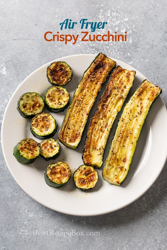 Air Fryer Zucchini Recipe With Garlic That S Healthy Best Recipe Box
