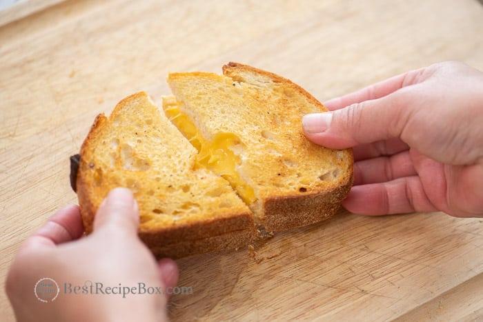 Best grilled cheese sandwich @BestRecipeBox