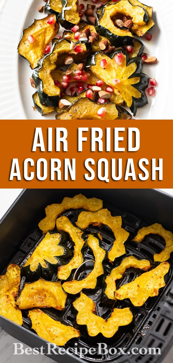 Air Fryer Acorn Squash Recipe @BestRecipeBox