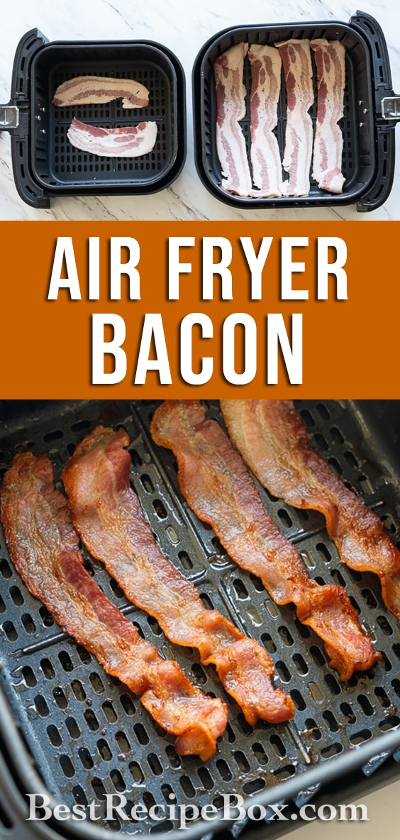 How to Cook Bacon in Air fryer for Crispy Air Fried Bacon Recipe | @bestrecipebox