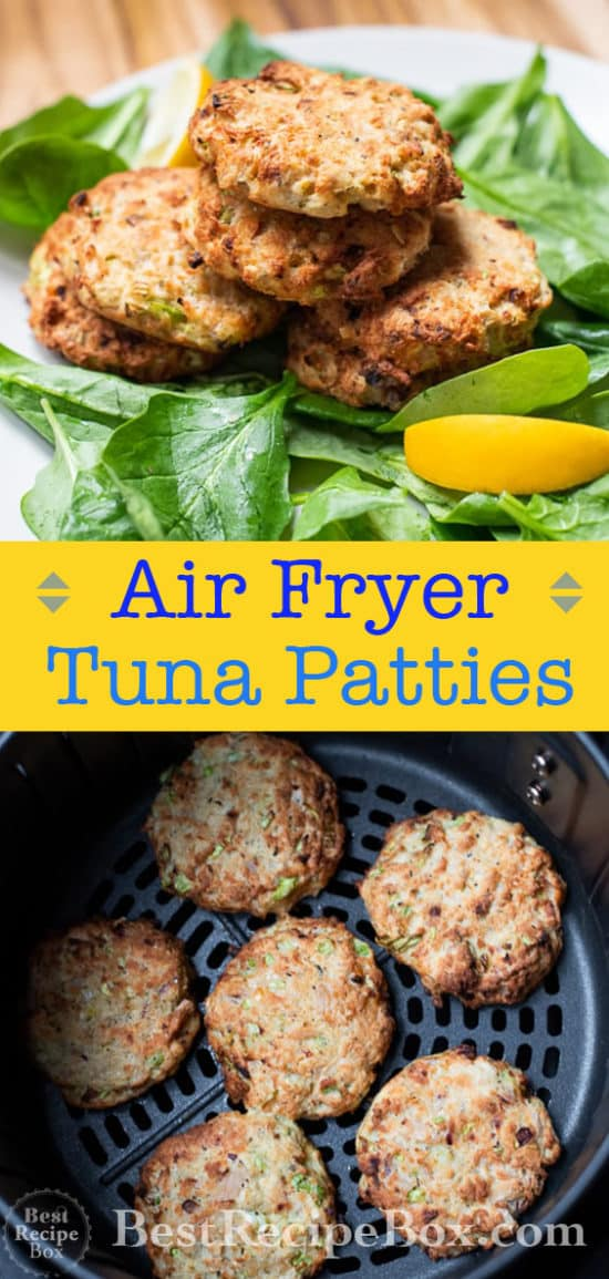 Air Fryer Tuna Patties recipe @BestRecipeBox