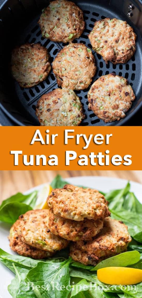 Air Fryer Tuna Patties recipe @BestRecipeBox