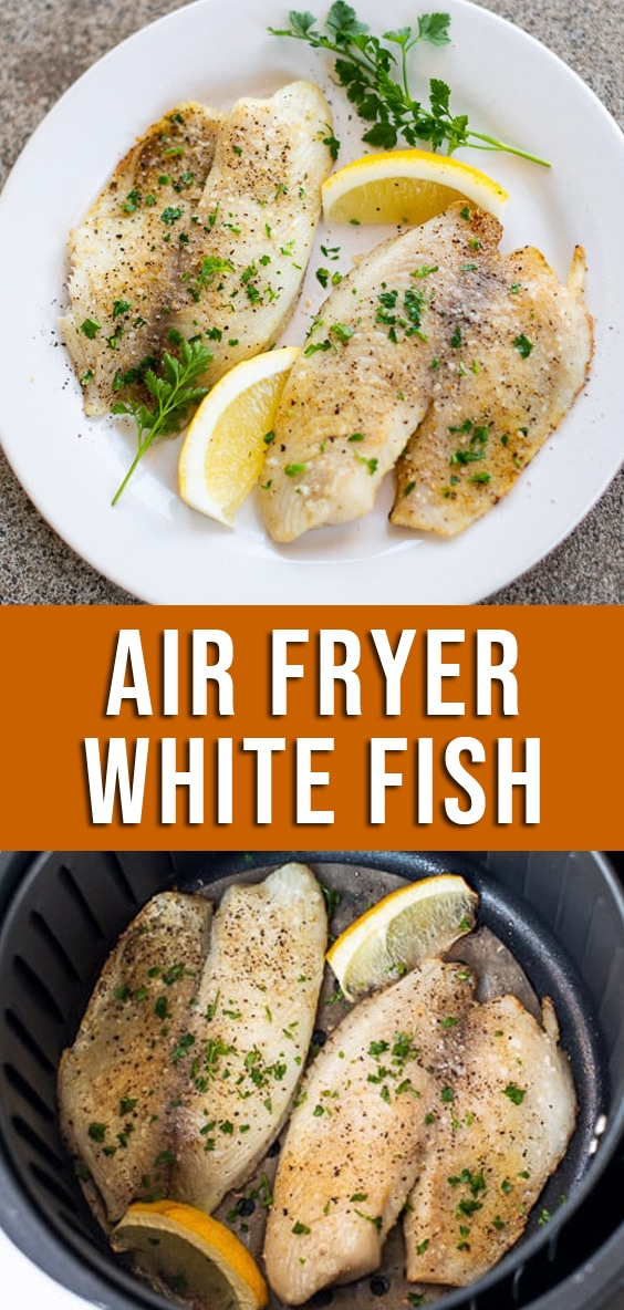 Air Fryer White Fish Recipe or Healthy Tilapia Recipe @bestrecipebox